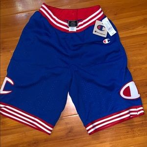 NWT champion basketball shorts